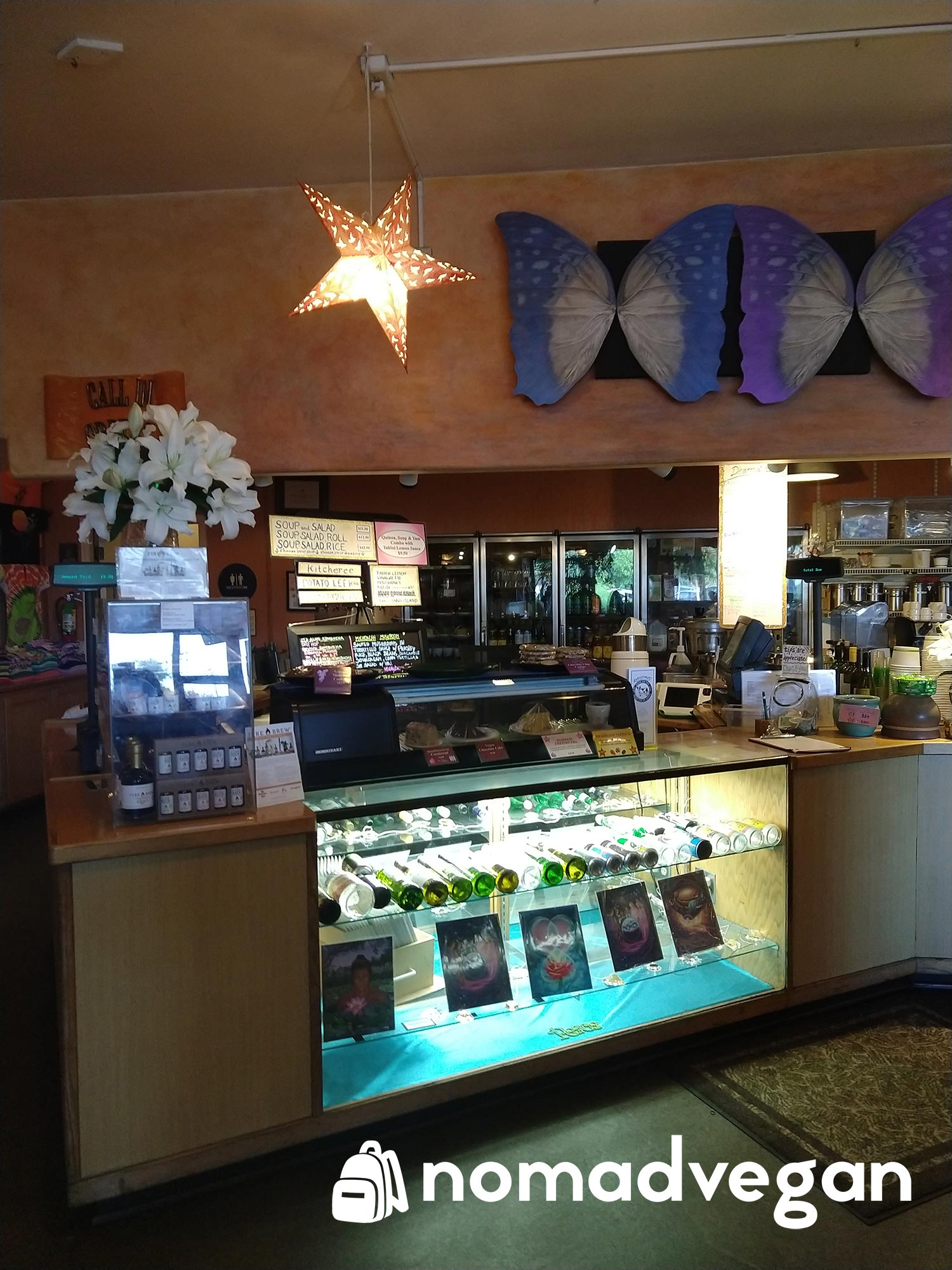 Dharmas Capitola front counter