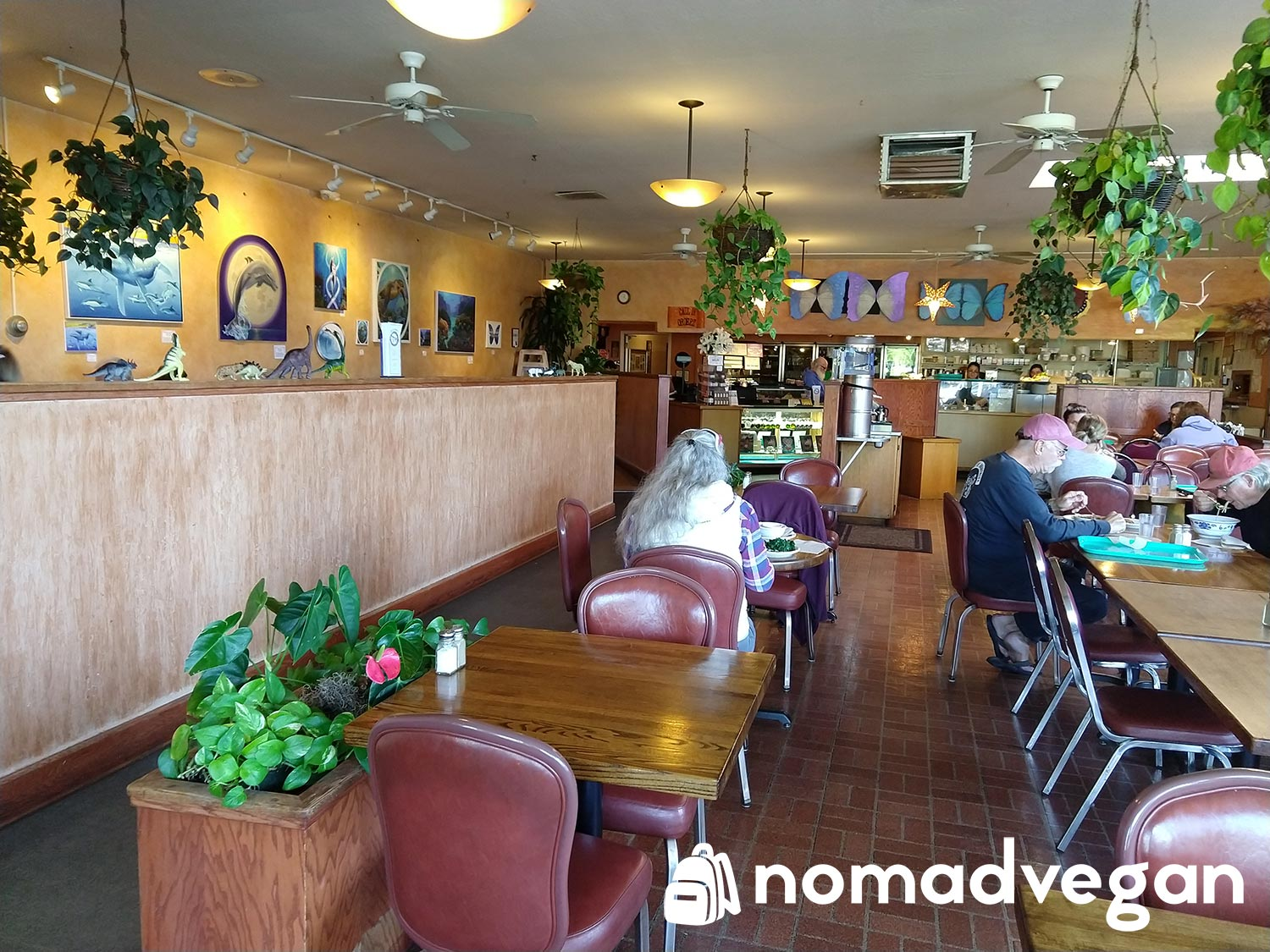 Dharmas Capitola vegan friendly restaurant