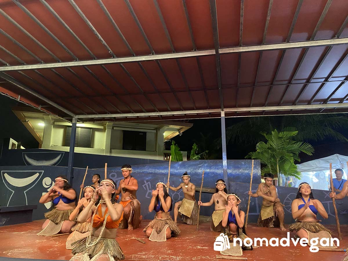 chamorro village dance show