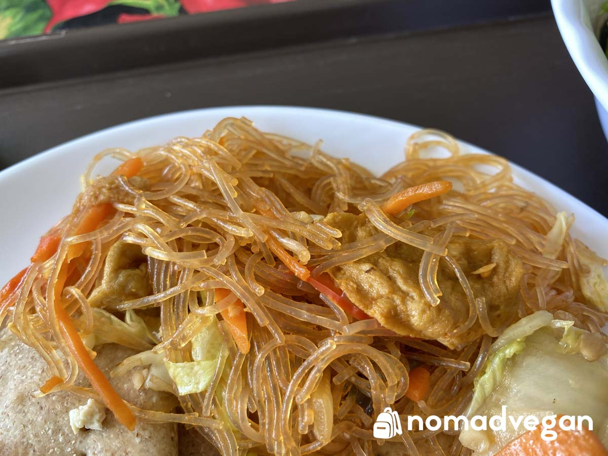 vegan pancit noodles chamorro traditional dish