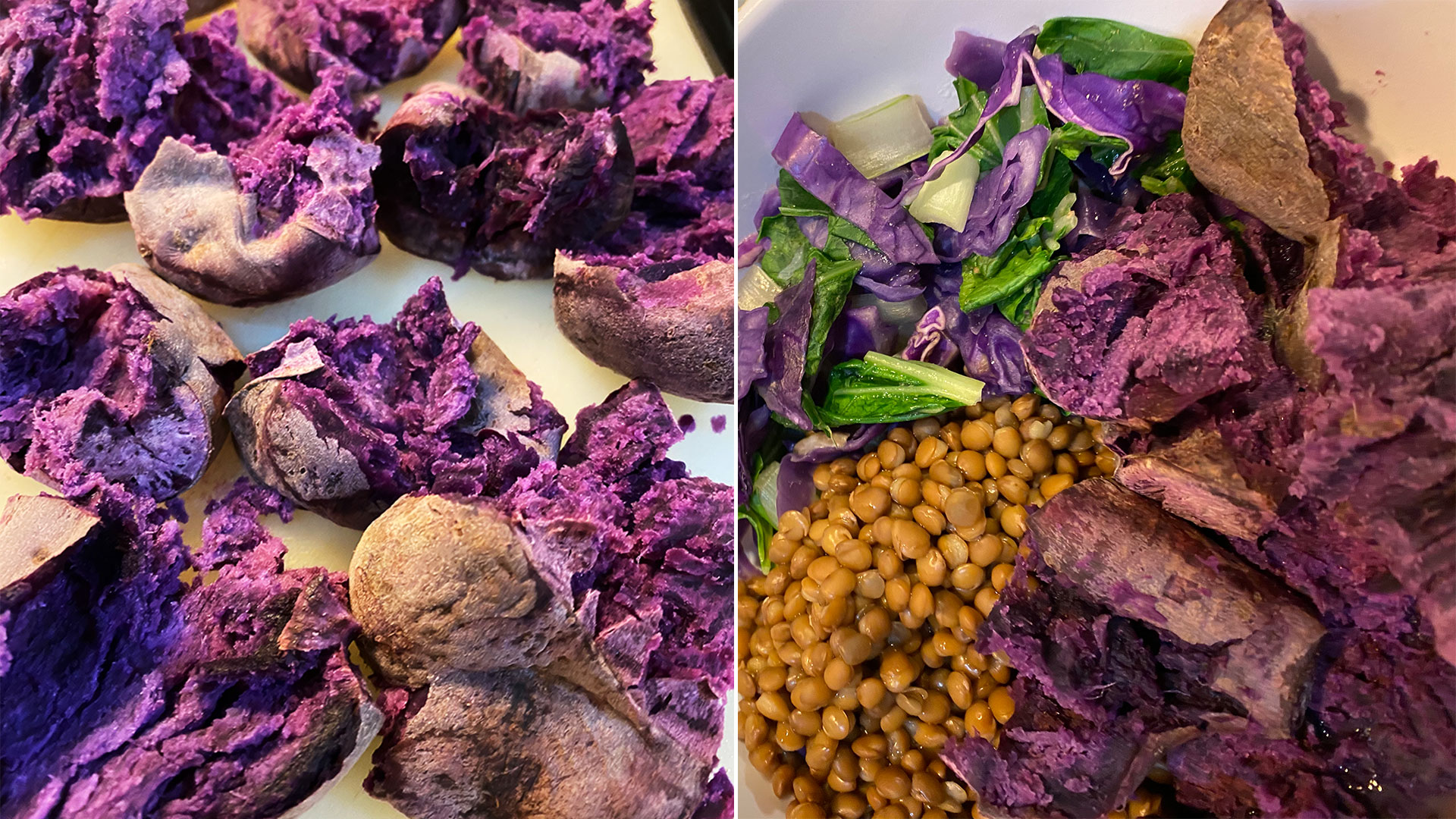 Vegan Purple Power Bowl Recipe