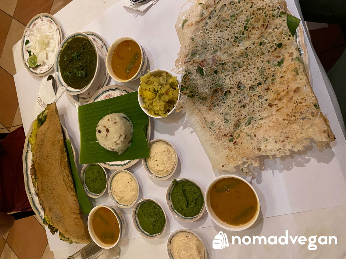 dosa king vegan indian food bangkok