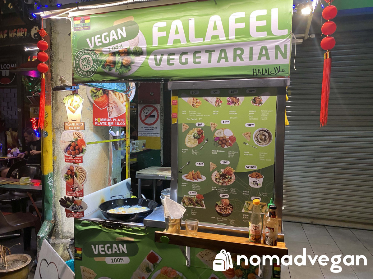 User Photo of Fah-Laugh-El: Vegan Falafel Food Stall @Chulia Street