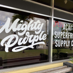 Mighty Purple Cafe