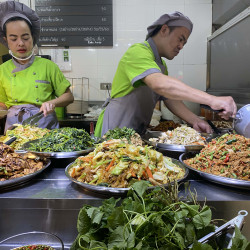 Image of Vegetarian Food Stall @MBK Shopping Mall